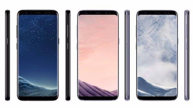 Samsung Galaxy S8 und S8 Plus: Farben und Euro-Preise geleakt