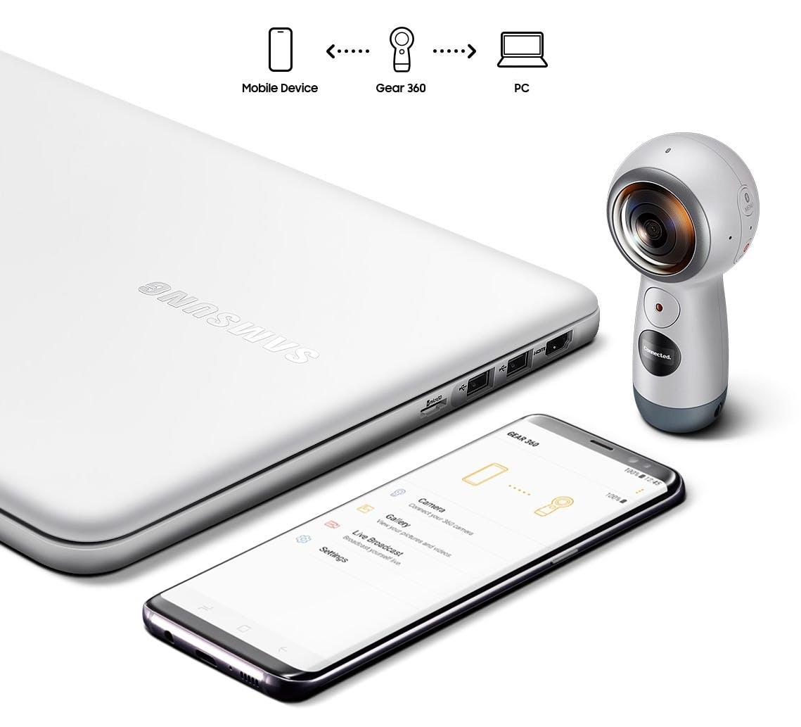 Gear 360 (2017) (Bild: Samsung)