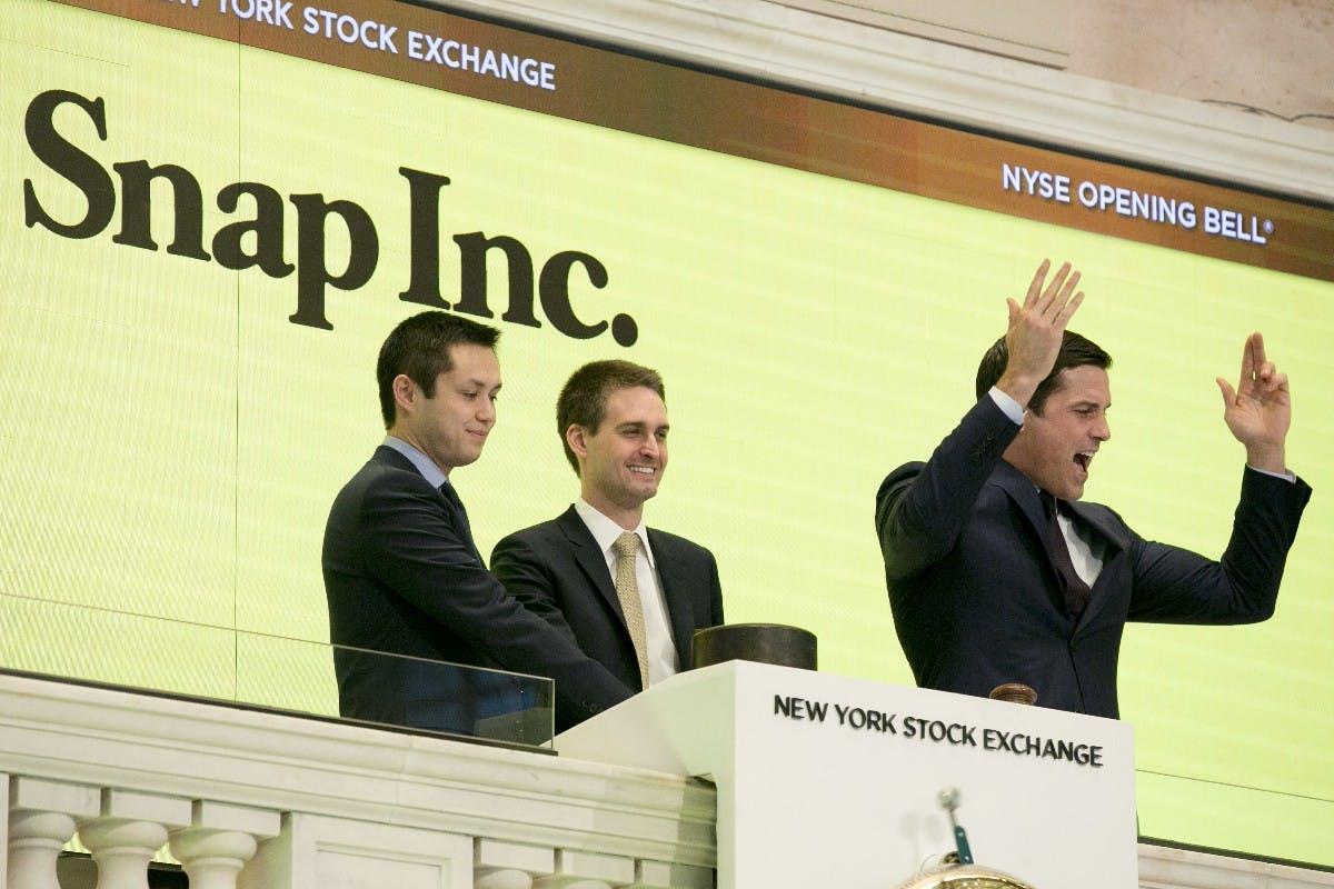 Fulminanter IPO: Snapchat-Aktie startet mit 44 Prozent Gewinn