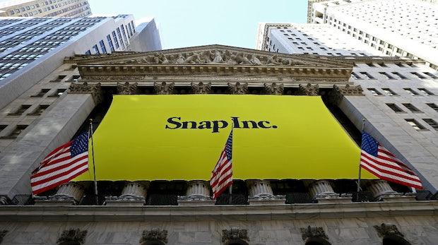 Snapchat-Firma überrascht mit deutlichen Zuwächsen