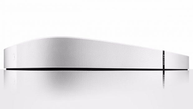 Die Sonos Playbase besteht aus einem glasgefüllten Polycarbonat. (Bild: Sonos)