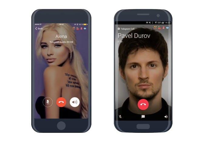 Telegram: Whatsapp-Alternative führt Telefonie-Funktion ein