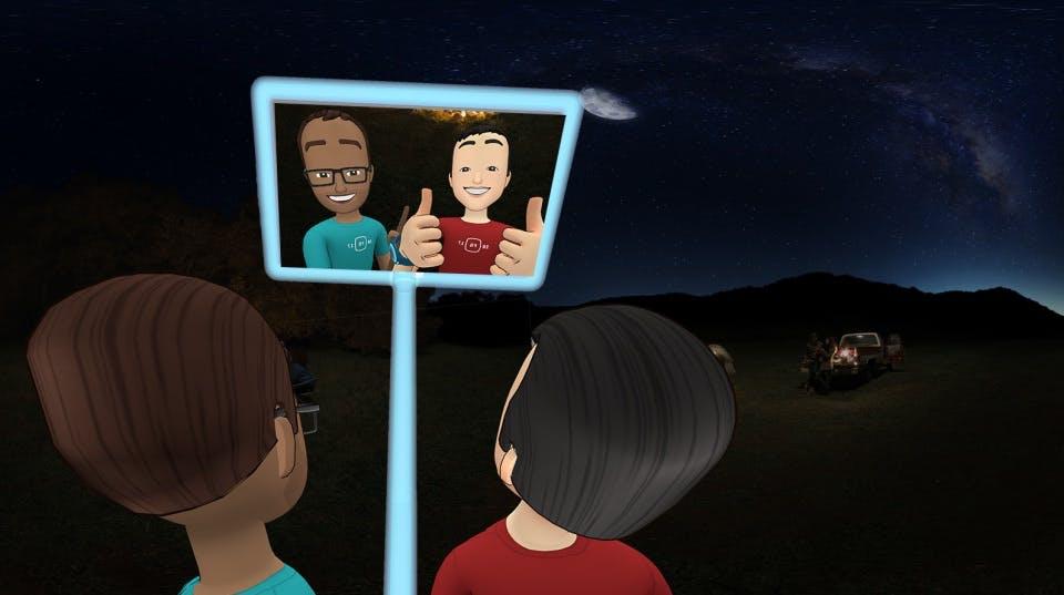 Facebook Spaces: Soziales Netzwerk veröffentlicht VR-App