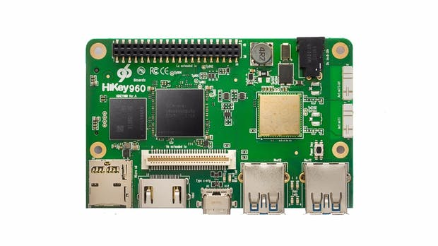 Hikey 960: Potente, teure Raspberry-Pi-Alternative mit Mate-9-Prozessor