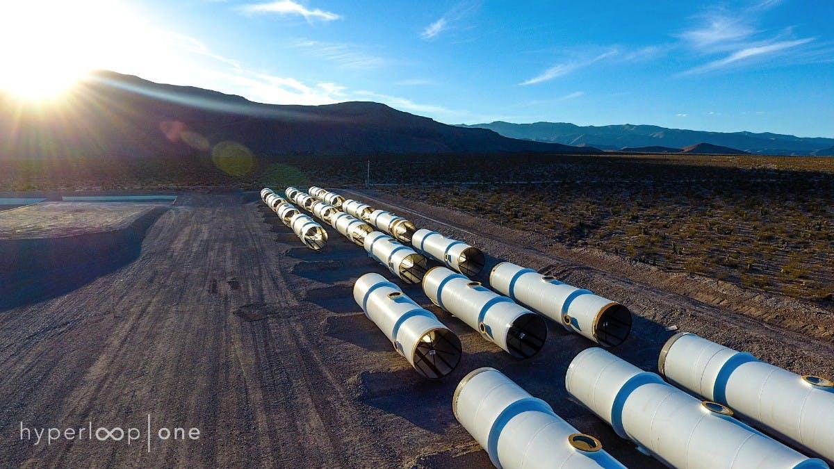 Hyperloop One: Die erste Teststrecke ist fertig
