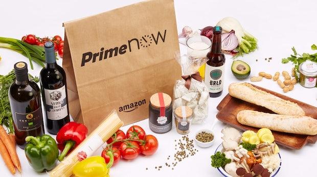 Prime Now für Berlin: Amazon bringt frische Lebensmittel innerhalb einer Stunde