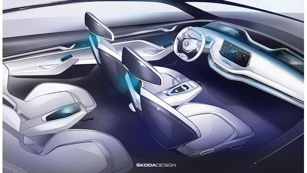 Skoda Vision E. (Bild: Skoda)