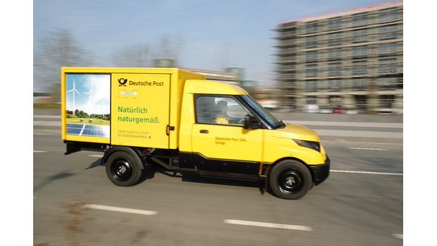 Streetscooter. (Bild: Deutsche Post)