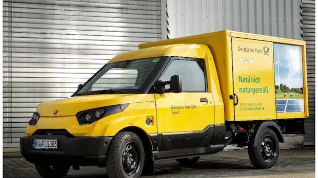 Deutsche Post verkauft 200 Elektroautos an britischen Milchlieferanten
