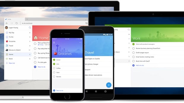 Von den Machern der Wunderlist-App: Microsoft launcht To-Do