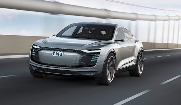 Audi E-tron Sportback Concept: Das ist das zweite Elektroauto der Ingolstädter
