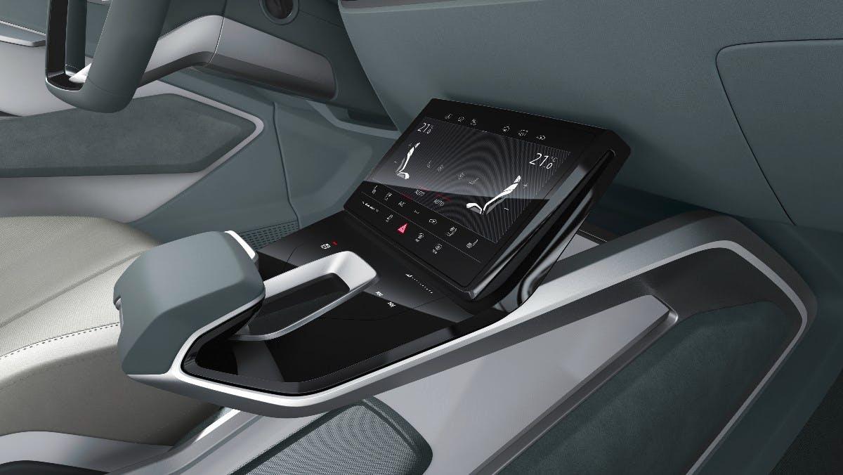 Interieur des Audi E-Tron-Sportback-Concept. (Bild: Audi AG)
