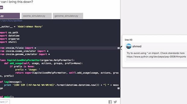 Gemeinsam zu besserer Software: Die Code-Review-Plattform Codetracer in der Kurzvorstellung