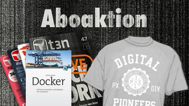 """Software entwickeln und deployen mit Containern – 30x """"Docker"""" gratis zum t3n-Abo"""