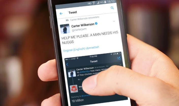 Dieser Tweet könnte bald der erfolgreichste aller Zeiten sein – und Marken können viel von ihm lernen