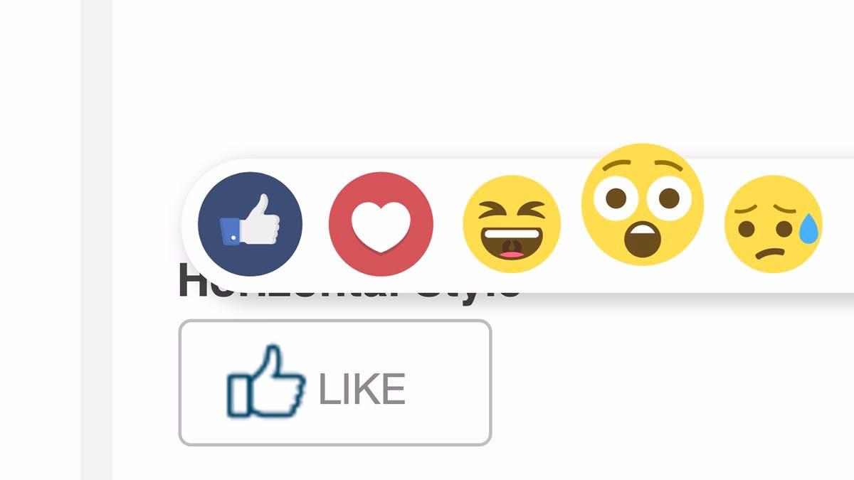 Facebook-Reaktionen für alle: Dieses jQuery-Plugin bringt sie auf deine Website