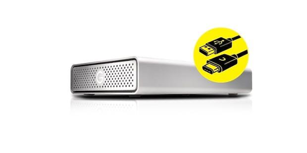 Western Digital G-Drive: Diese USB-C-Festplatte lädt euer Notebook auf