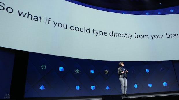 Facebook will unsere Gedanken auf den Computer bringen