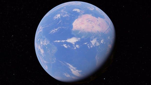 Selber Planet, neue Features: Google Earth massiv überarbeitet