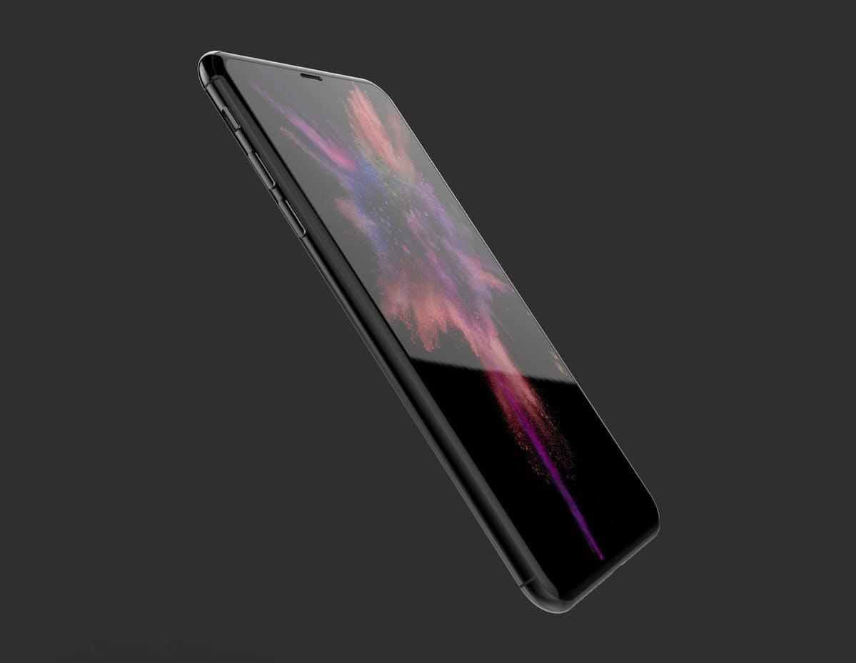 """iPhone 8: Renderbild von Geskin. (Bild: <a href=""""https://twitter.com/VenyaGeskin1/status/856464019204571137"""">Benjamin Geskin</a>)"""