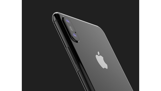 """iPhone 8: ein Renderbild basierend auf CAD-Zeichnungen. (Bild: <a href=""""https://twitter.com/VenyaGeskin1/status/856464019204571137"""">Benjamin Geskin</a>)"""