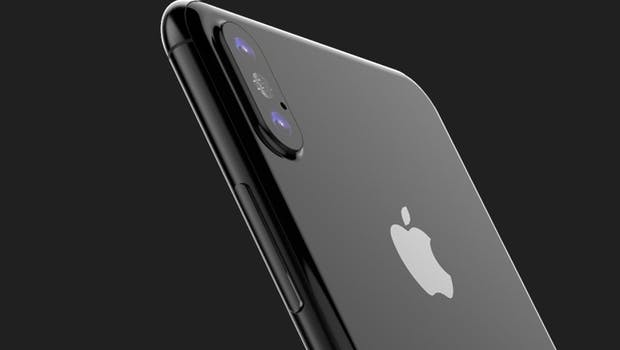 iPhone 8: ein Renderbild basierend auf CAD-Zeichnungen. (Bild: Benjamin Geskin)