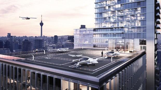 Flugtaxis bald in München? CSU will Flächen am neuen Hauptbahnhof