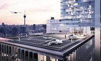 Bitkom-Umfrage: Deutsche sehen in Flugtaxis Chance für die Wirtschaft