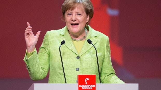 """Merkel eröffnet Hannover Messe: """"Apokalyptische Thesen"""" zur Digitalisierung nicht erfüllt"""