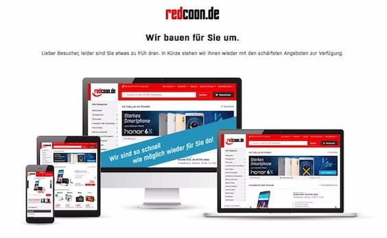 Redcoon komplett offline: Marke von Media-Markt-Saturn wird radikal umstrukturiert
