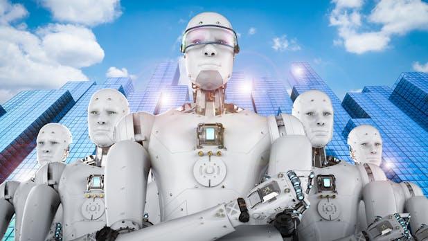 Roboter ersetzen bis zu 6 Arbeitskräfte und führen zu niedrigeren Löhnen