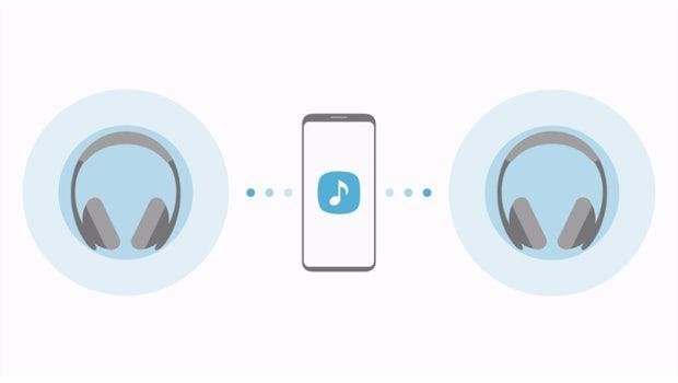 Dual Audio ist auf dem Samsung Galaxy S8 dank Bluetooth 5.0 möglich. (Screenshot: t3n)
