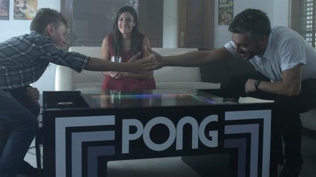Kicker-Ersatz fürs Büro: Pong kommt als Tisch-Variante