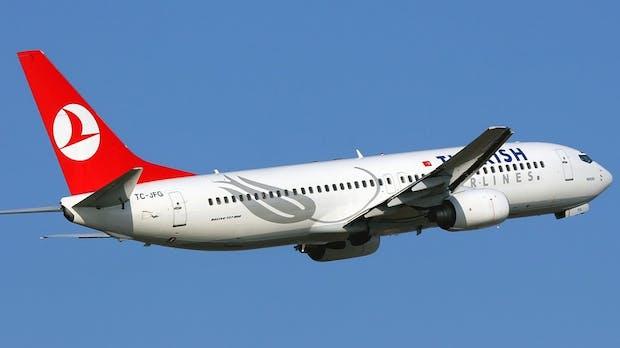 Turkish Airlines: Gratis-WLAN auf USA-Flügen jetzt auch in der Economy Class