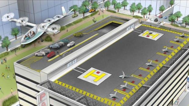 Uber plant riesiges Flugtaxi-Netzwerk: Städte-Tests schon 2020