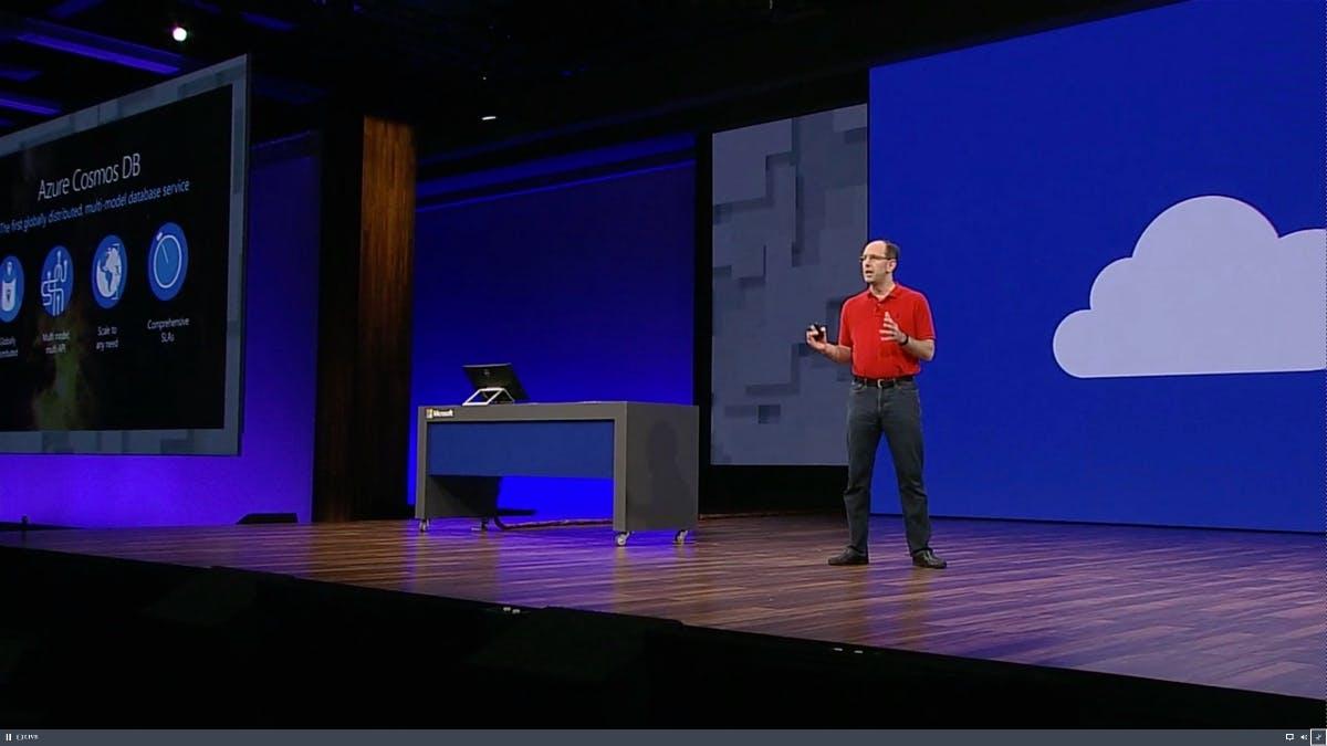 """""""Datenbank der Zukunft"""": Microsoft stellt Azure Cosmos DB vor"""