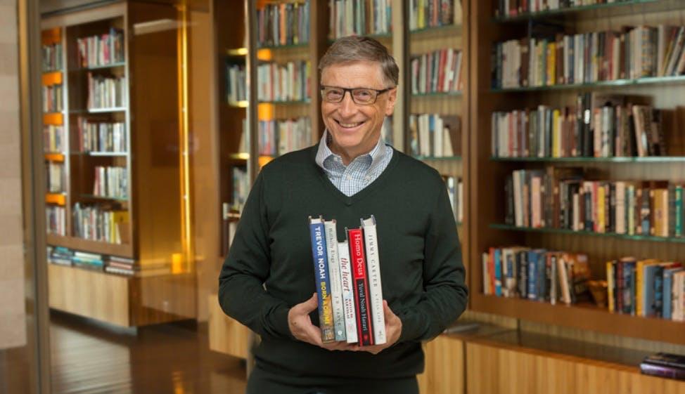 Diese 5 Bücher empfiehlt Bill Gates als Sommerlektüre