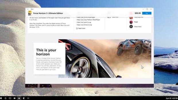 Fluent-Design-System: Neue Designsprache für Microsofts Windows 10 soll mehr Transparenz und flüssige Animationen bringen. (Screenshot: Microsoft)