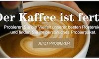 Kaffee? Dieses Startup macht Tchibo und Jacobs Konkurrenz
