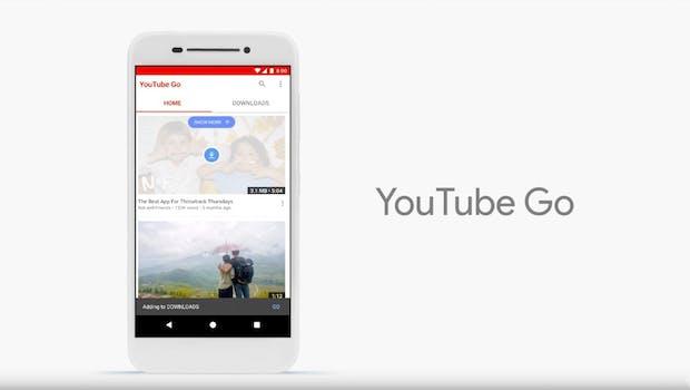 Youtube Go ist eine der optimierten Apps.
