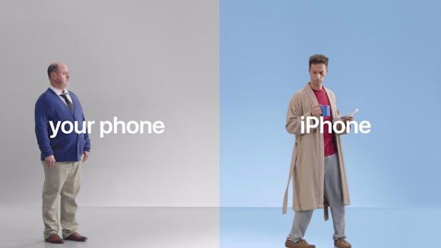 """""""Mit dem iPhone geht es besser"""": Apple startet neuen Angriff auf Android"""