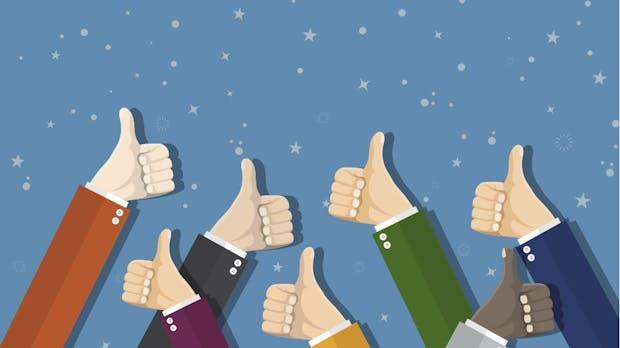 Darum solltet ihr auch auf positive Kundenbewertungen reagieren