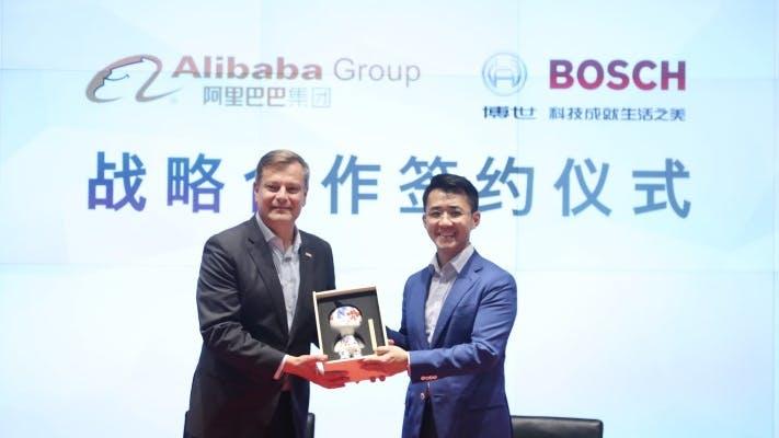 Bosch will China erobern – und verbündet sich mit Alibaba