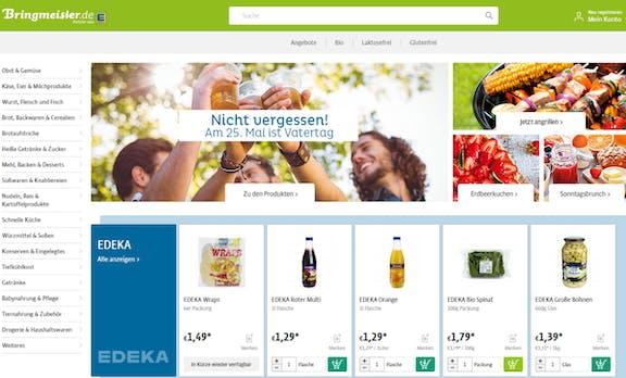 Konkurrenz für Amazon Fresh in Berlin: Bringmeister jetzt mit Edeka-Sortiment