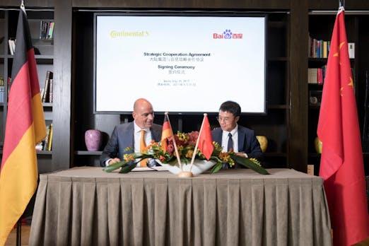 Intelligente Mobilität: Continental kooperiert mit chinesischer Baidu