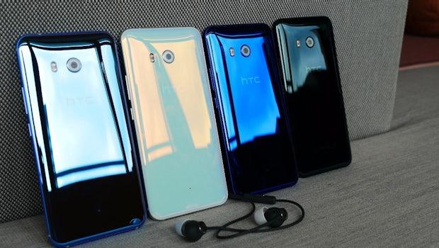 Die im Lieferumfang befindlichen Kopfhörer des HTC U11 besitzen eine aktive Lärmkompensation (ANC). (Foto: t3n)