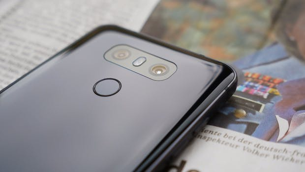 LG G6 im Test. (Foto: t3n)