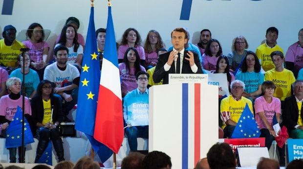 """""""Massiv und koordiniert"""": Hacker-Angriff auf Macrons Wahlkampfteam"""