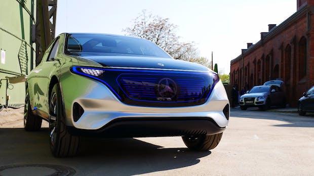 S-Klasse auf Strom: Mercedes Benz plant Luxusstromer EQS bis 2020