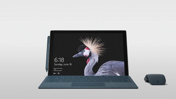 Das Microsoft Surface Pro. (Foto: Microsoft)